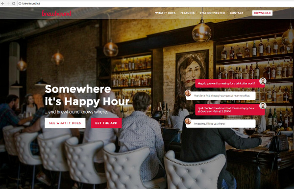 Track Down Happy Hours Faster with Brewhound