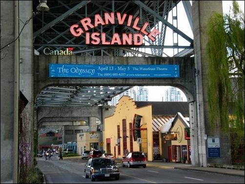 GI Entrance Neon on the Bridge