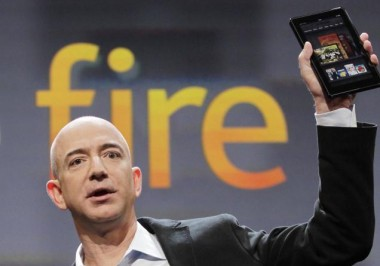 Kindle Fire and Jeff Bezos