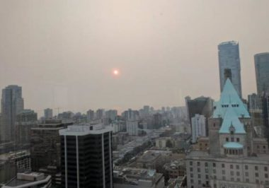 Vancouver Air Quality is Worse Than Beijing?